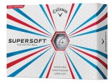 Callaway Supersoft 1 dozen Golf Balls White
