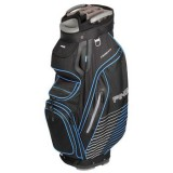 PING PIONEER  CART BAG BLACK/BLUE