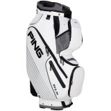 PING DLX CART BAG WHITE