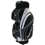 TAYLORMADE CORZA CART BAG BLACK/WHITE
