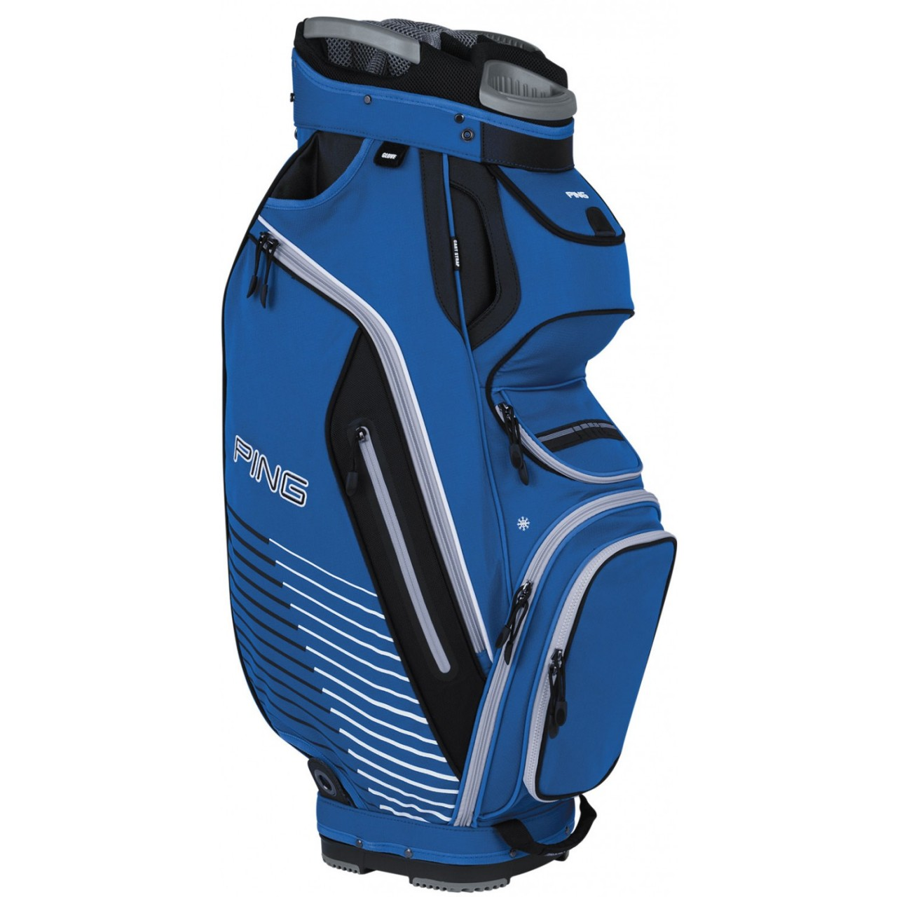 dad643a5d909 PING PIONEER CART BAG BLUE - Golf Factory Outlet