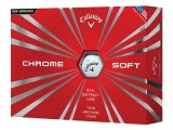 Callaway Chrome Soft 2016 1 Dozen Golf Balls White