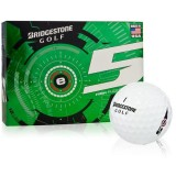 Bridgestone e5 1 Dozen Golf Balls White