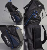 PING HOOFER STAND BAG BLACK/BLUE