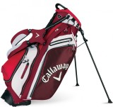 CALLAWAY HYPER-LIE 5 STAND BAG RED