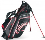 CALLAWAY HYPER-LITE 5 STAND BAG BLACK/RED