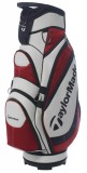TAYLORMADE MONACO CART BAG WHITE/RED