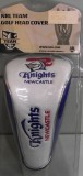 Newcastle Knights Fairway Wood Headcover