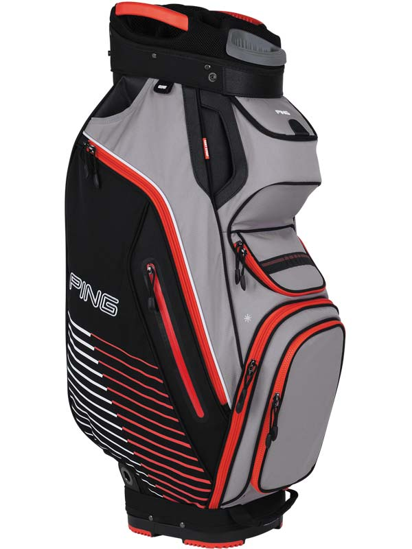 Ping Pioneer II Cart Bag RED - Golf Factory Outlet